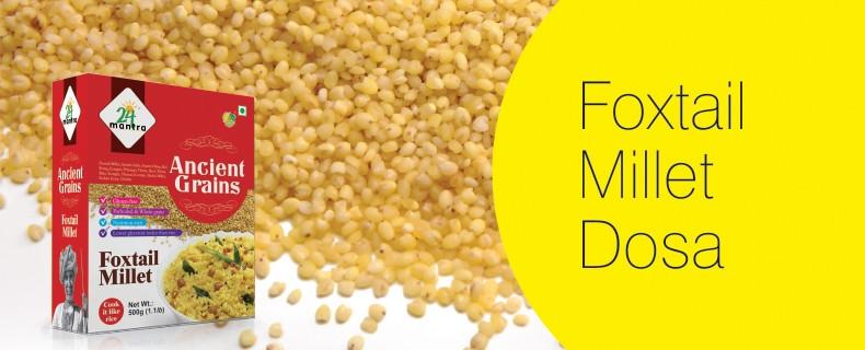 Foxtail Millet – Dosa