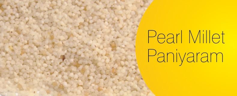 Pearl Millet Paniyaram