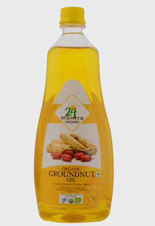 COLD PRESSED GROUNDNUT OIL - 24mantra