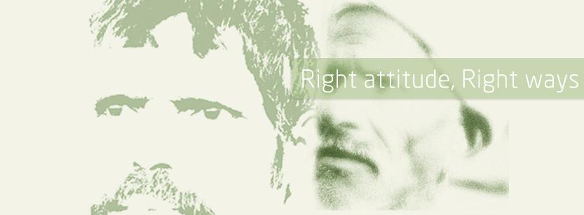 Right attitude, Right ways