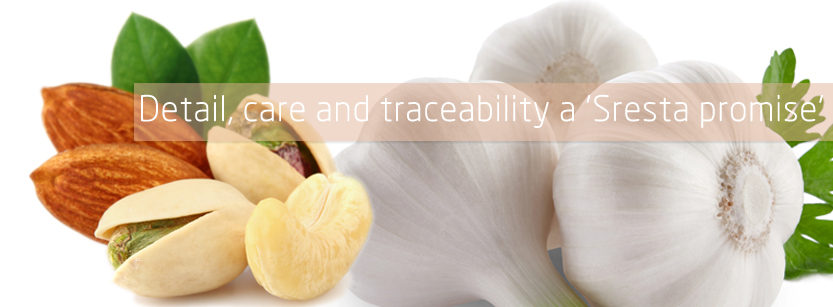 Detail, care and traceability a 'sresta promise'