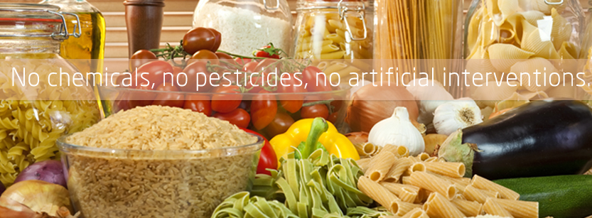 No chemicals, no pesticides, no artificial interventions.