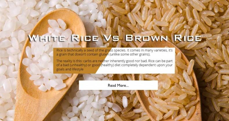 white-brown-rice