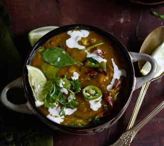 Organic Thai detox lentil soup