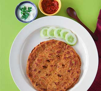 Organic Vegetable Thalipeeth