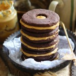 Organic Chocolate Peanut Butter Cookie Sandwiches