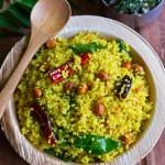 Organic Millet Tamarind Rice Recipe