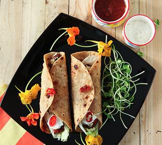 Organic Vegetarian Burritos