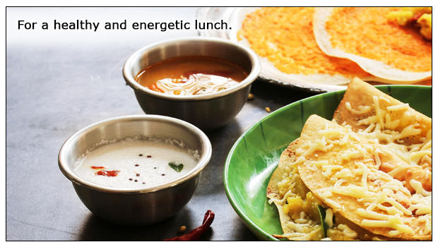 Millet Dosa – A tasty healthy super meal for lunch