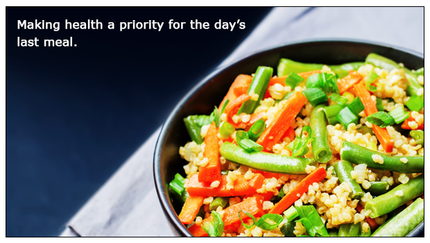 Millet Fried Rice – Power packed goodnight