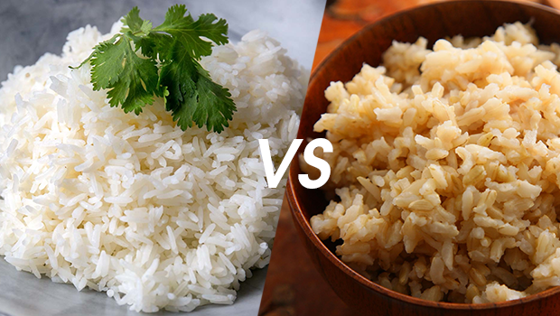 Nutritional Face Off:  White Rice V/S Brown Rice
