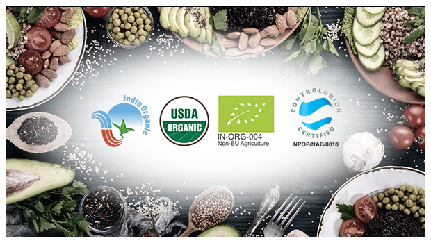 HOW IS ORGANIC FOOD CERTIFIED SO THAT I CAN BE SURE OF ITS AUTHENTICITY?