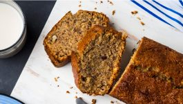 Organic Whole Wheat Banana Bread