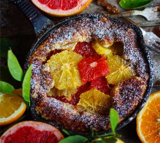 Organic Citrus Galette