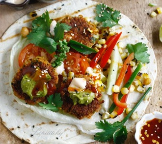 Organic Chickpea and Oats Pattie