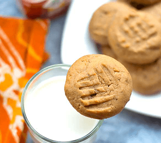 Organic Honey Peanut Butter Cookies