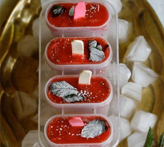 Organic Mixed Fruit Popsicles