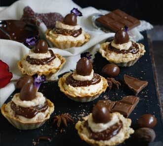 Organic Peanut Butter Cheesecake Tart