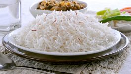 Calories in 100g of Cooked Basmati Rice and Nutrition Facts