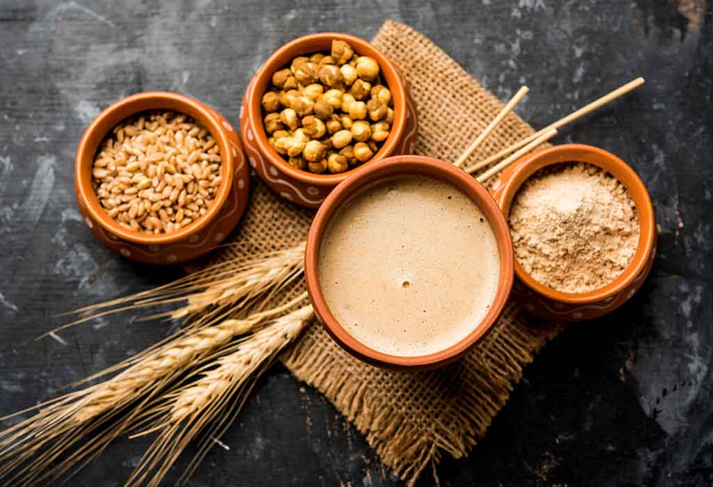 benefits of sattu drink for weight loss
