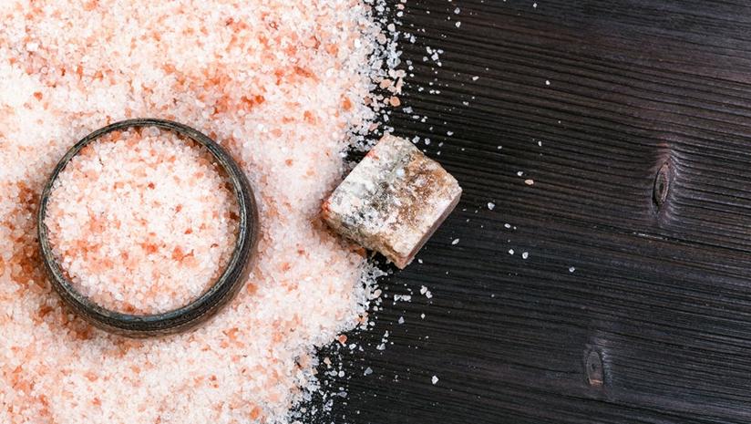 rock salt good for health