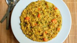 Homely and Comforting Dalia Khichdi Recipe
