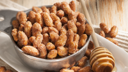 Delicious Recipe of honey roasted raw peanuts at home