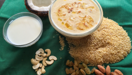 A step-by-step guide for making broken wheat payasam