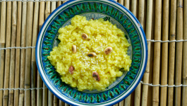 Spicy and Savoury Broken Wheat Pongal Recipe