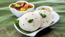 Soft and Fluffy Brown Rice Idli