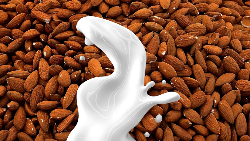 almond with milk benefits