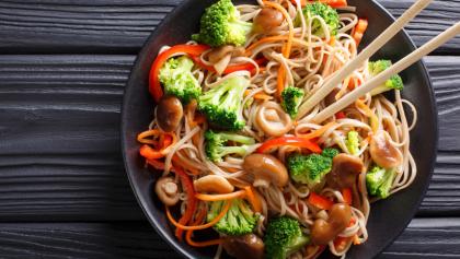 vegan noodle recipe