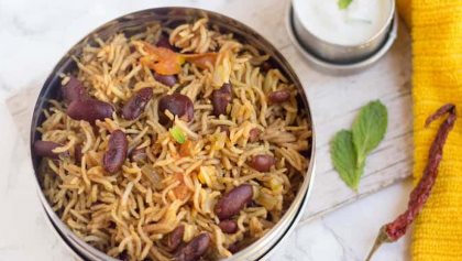 Finger Licking Rajma Biryani Recipe For You To Try