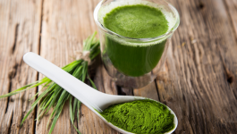 Can we have wheatgrass for cholesterol regulation?