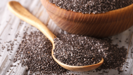 Chia Seeds Fibre and Protein Content