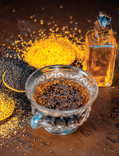 mustard oil for weight loss